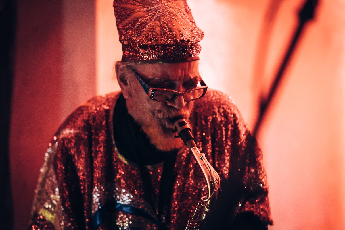 Sun Ra Arkestra led by Marshall Allen